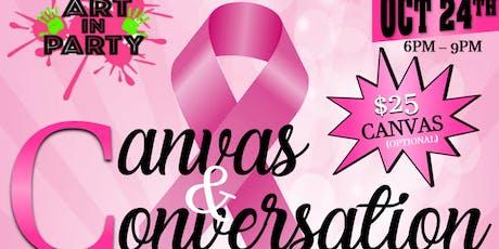 Canvas & Conversation Roundtable Talk w/ The Kake Ladi tickets