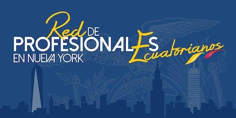 Networking - Red de Profesionales Ecuatorianos en Nueva York biglietti