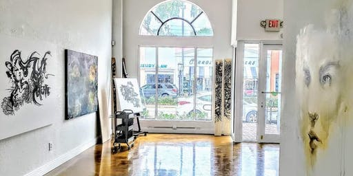 Zero Empty Spaces Pop-Up During Las Olas Art Fair