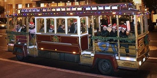 SOLD OUT Cable Car Ride to View Holiday Lights in Willow Glen - Sunday, Dec. 22, 2019, 8:15pm Ride