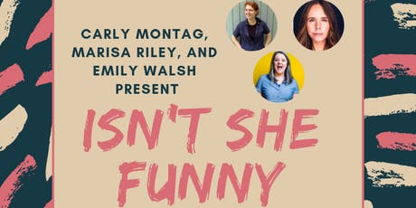 Isn't She Funny: A Comedy Show with Dude-Free Lineup - Ft. Aparna Nancherla tickets