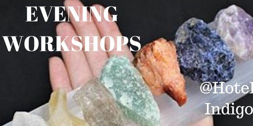CRYSTAL CONFIDENT WORKSHOP: An introduction to crystal consciousness