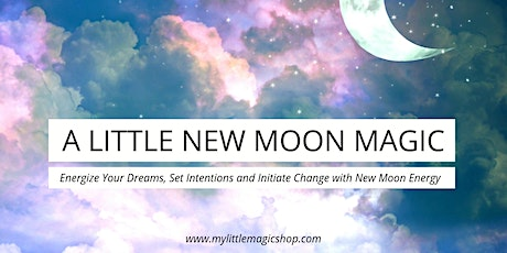 A Little New Moon Magic: Using the Moon Phases tickets