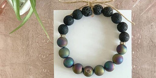 Aromatherapy Bracelet for Ladies night out!