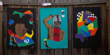 """The Oakland Art Show at Era Art Bar """"BeastMode Basquiat"""" tickets"""