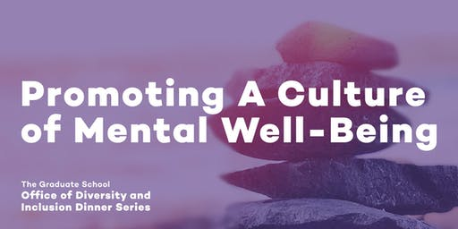 ODI October Dinner Series: Promoting A Culture of Mental Well-Being