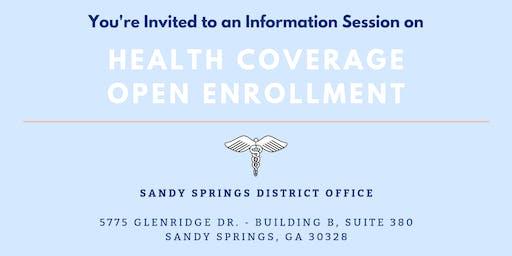 Health Coverage Open Enrollment Information Session