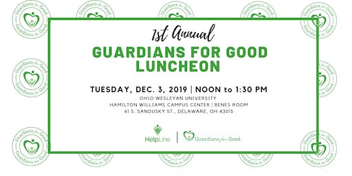 1st Annual Guardians for Good Luncheon