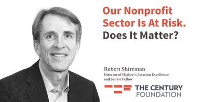 Our Nonprofit Sector Is at Risk. Does it Matter?