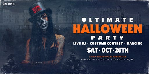 The Ultimate Halloween Party at Bar Social