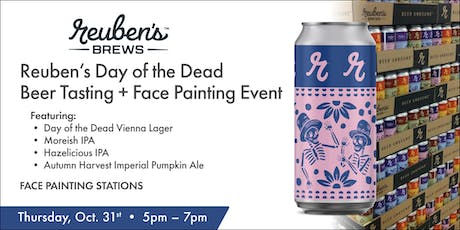 Day of the Dead Tasting Event w/Reubens tickets