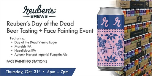 Day of the Dead Tasting Event w/Reubens