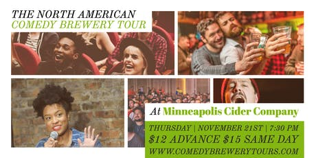 Hand Picked Comedy at Minneapolis Cider Company tickets