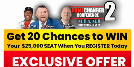 GameChanger  Conference 2 tickets