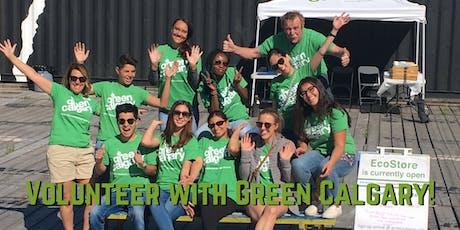 Green Calgary Volunteer Orientation Monday November 18th 2019 tickets