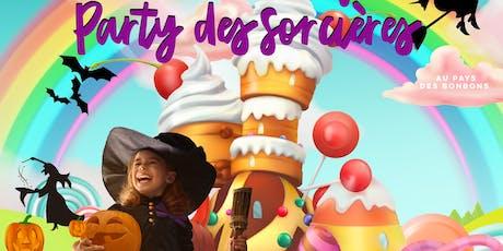 L'HALLOWEEN AU PI-O | le party des sorcières au pays des bonbons billets