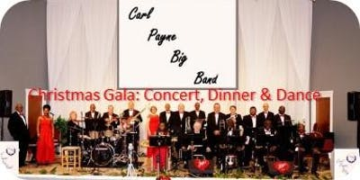 CARL PAYNE BIG BAND CHRISTMAS GALA JAZZ CONCERT & DINNER DANCE