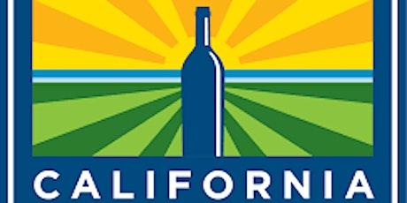 """""""California Dreaming"""" – Redécouvrez les vins de la Californie tickets"""