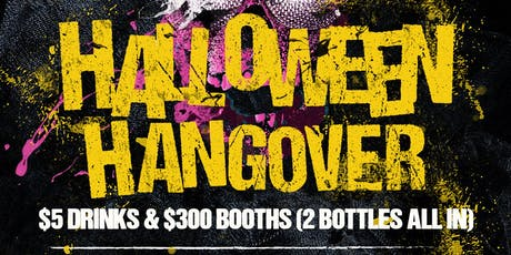 Halloween Hangover @ Fiction // Fri Nov 1 | Ladies FREE Before 11PM & $5 Drinks tickets