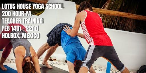 Lotus House 200 YA Teacher Training Beach Retreat
