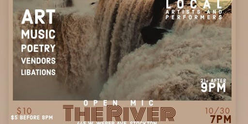 The River Open Mic at Chitivas