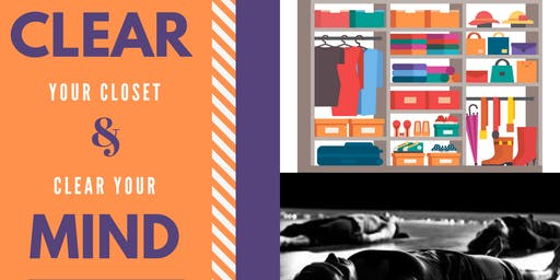 Clear Your Closet - Clear Your Mind (Yoga Nidra, Meditation, and Clothing Swap Party)