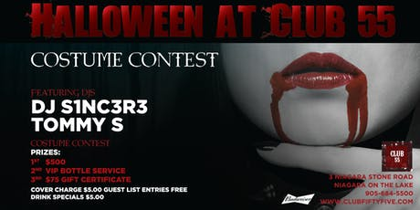 Halloween at 55 tickets