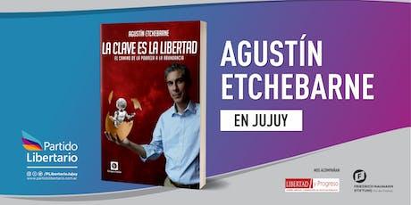 Agustín Etchebarne en Jujuy entradas