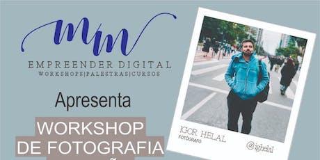 Workshop de fotografia e edição pelo celular ingressos