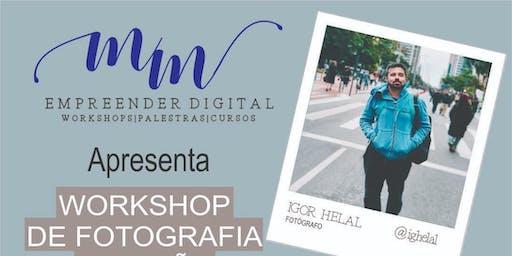 Workshop de fotografia e edição pelo celular