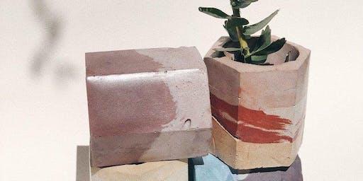 Concrete Workshop with Krizia Flores