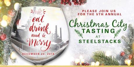 Christmas City Tasting 2019 tickets