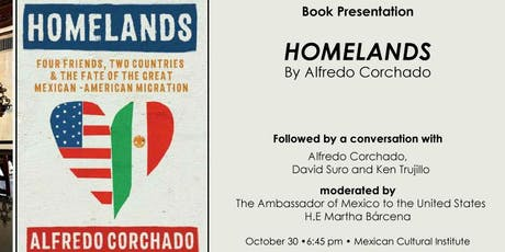 HOMELANDS BOOK PRESENTATION AND CONVERSATION tickets