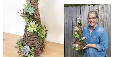 Make-n-Take: Grapevine Succulent Tree