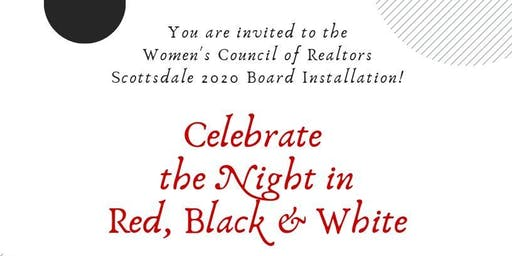 Celebrate the Night in Red, Black & White!