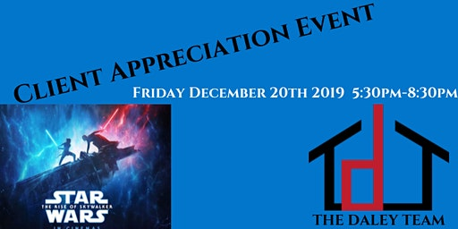 Star Wars Movie Night | Client Appreciation Event(The Rise of Skywalker)