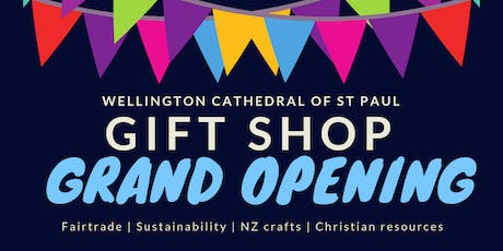 Gift shop grand opening tickets