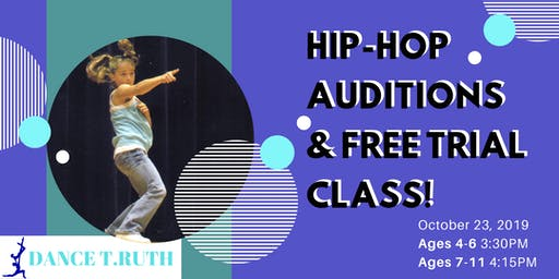 Hip Hop Dance Auditions- FREE CLASS! Midtown East @ CATS Dance Company