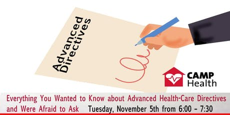 Advanced Directives - Everything You've Wanted to Know tickets