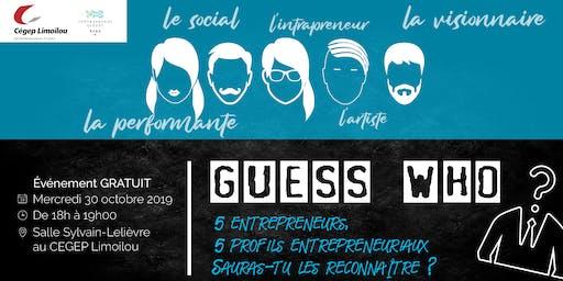 GUESS WHO, quel profil d'entrepreneur se cache en nous ?