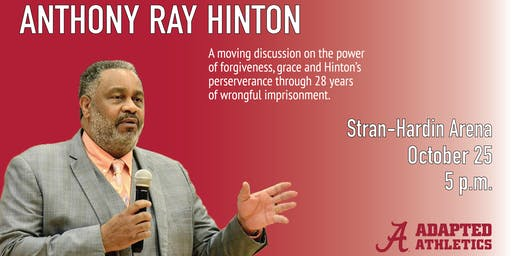 Guest Speaker Anthony Ray Hinton