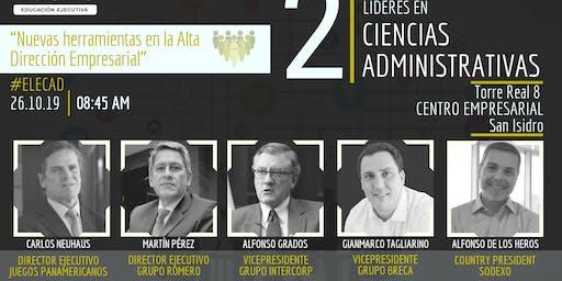 II ENCUENTRO DE LÍDERES EN CIENCIAS ADMINISTRATIVAS