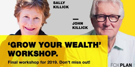 Grow Your Wealth - The Final Free Investment Workshop (November) tickets