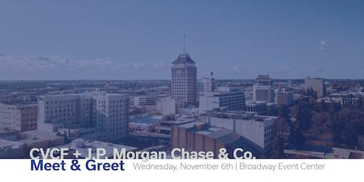 CVCF + J.P. Morgan Chase & Co. Meet & Greet