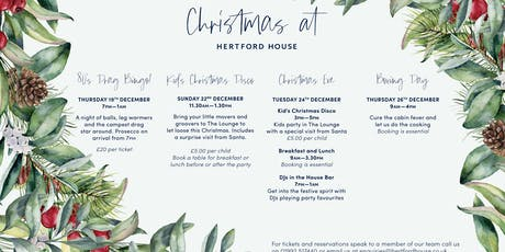 Kids Christmas Disco's at Hertford House tickets