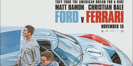 MTA Central West: Ford vs. Ferrari movie night, New Plymouth tickets