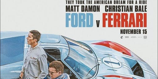 MTA Central West: Ford vs. Ferrari movie night, New Plymouth
