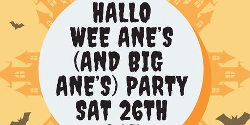 Hallo big ane's party