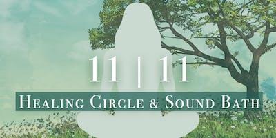11/11 Healing Circle & Sound Bath