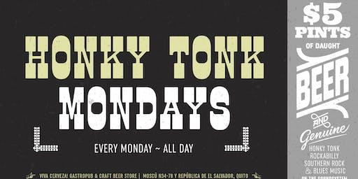 Honky Tonk Mondays at VIVA Cerveza!